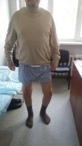Протезирование правого колена в ноябре 2016 г.