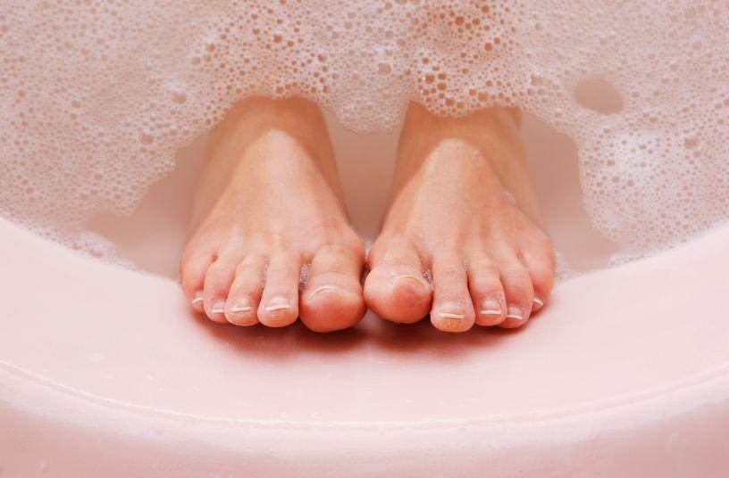 Согревайте ноги, если замерзли